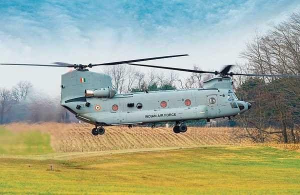 Ladakh standoff: IAF deploys Chinook heavy-lift choppers near China border