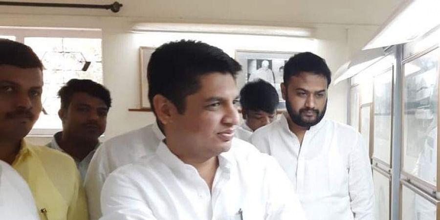 Maharashtra Youth Congress leader Satyajit Tambe