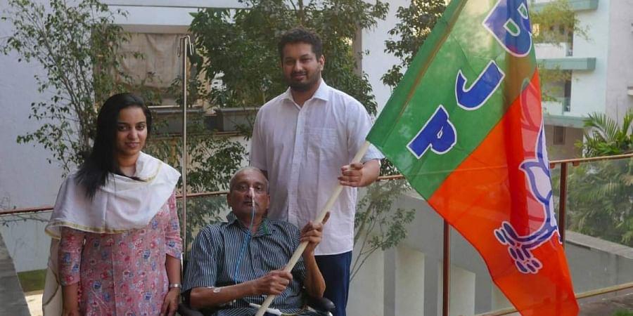 Ailing Goa Chief Minister Manohar Parrikar