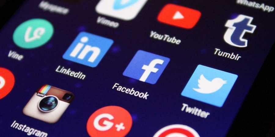 Twitter Facebook Social media