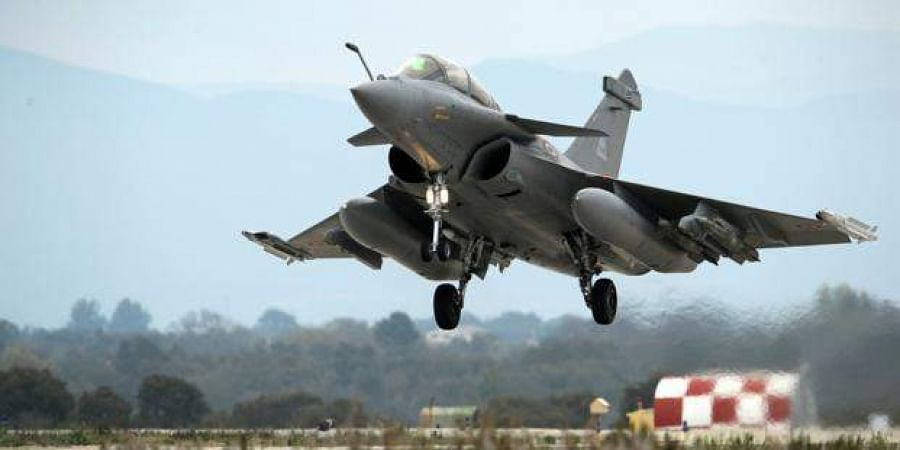 Rafale fighter jet made by Dasault Aviation