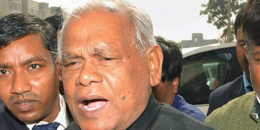 Former Bihar Chief Minister Jitan Ram Manjhi