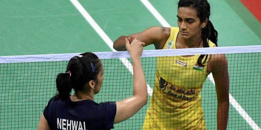 Saina Nehwal and PV Sindhu