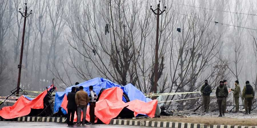 Pulwama suicide bomb attack