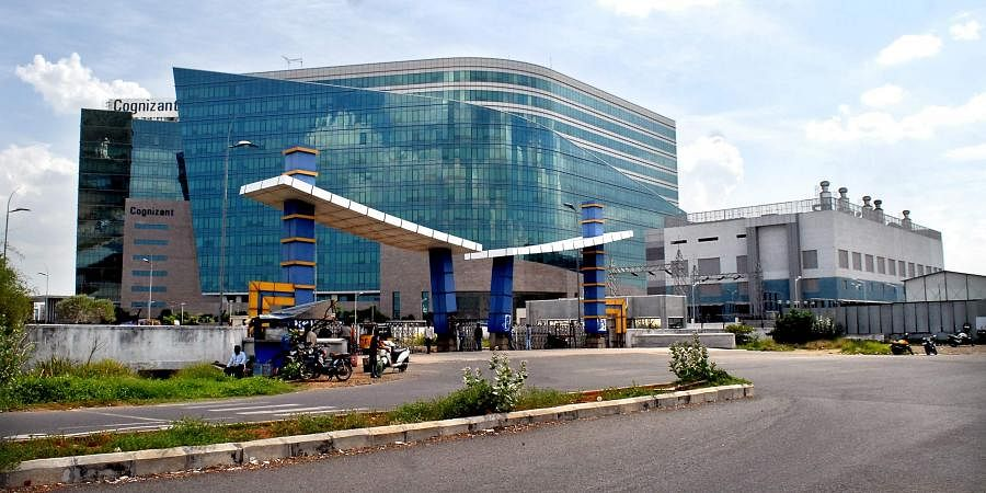A view of Chennai Cognizant IT Company.