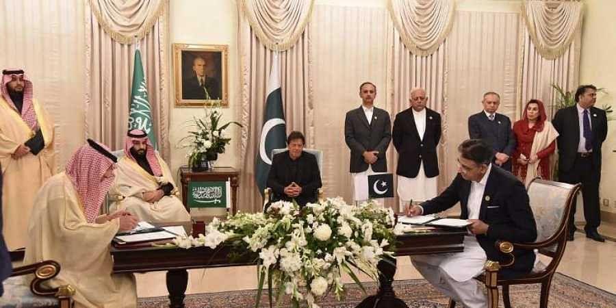 Saudi Arabia signs deals worth USD 20 billion with Pakistan