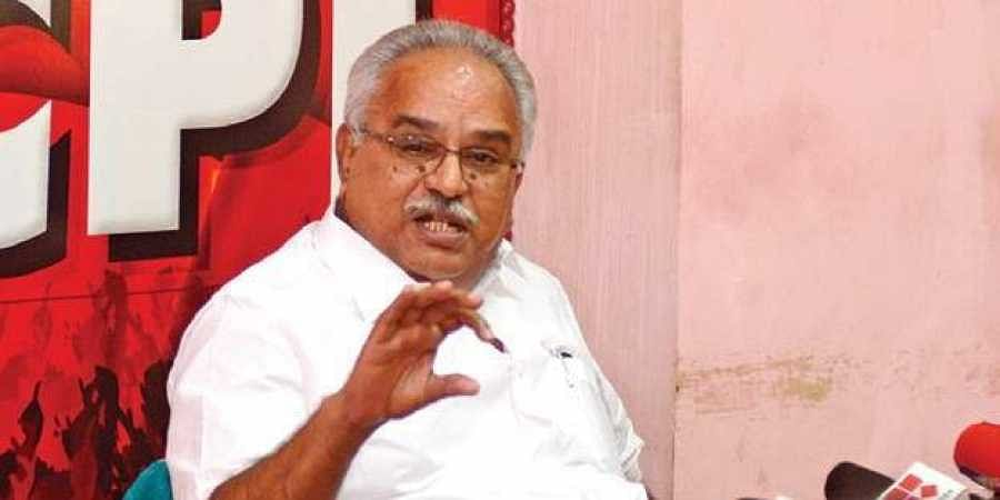 Kanam Rajendran denies endorsing police action during protest march- The  New Indian Express