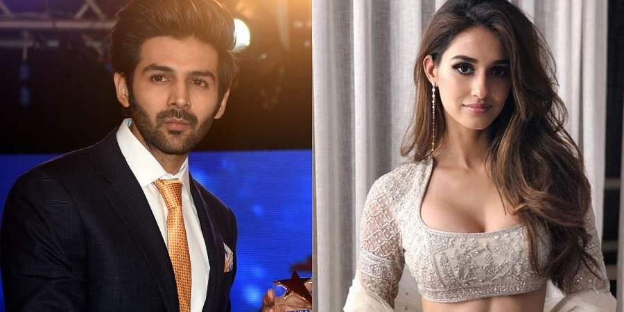 Bollywood actors Kartik Aaryan and Disha Patani
