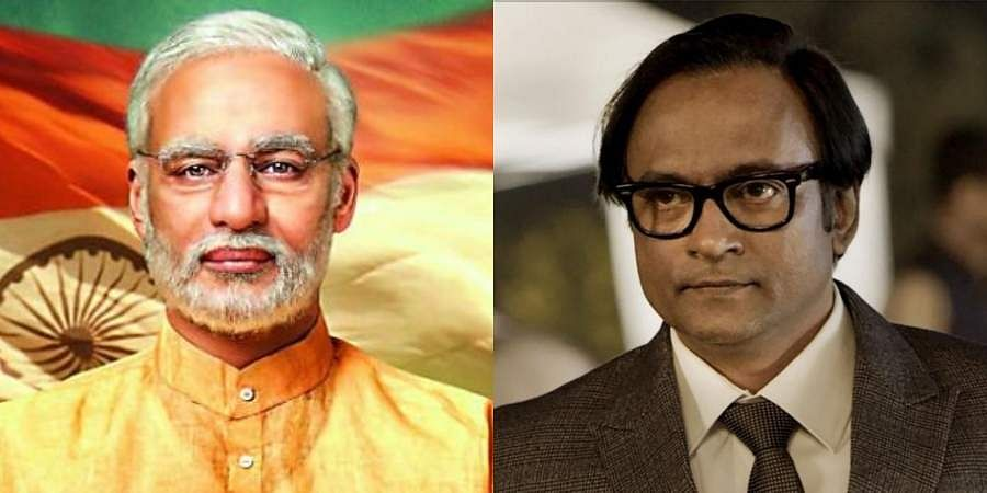 Vivek Oberoi and Prashant Narayanan in 'PM Narendra Modi'.