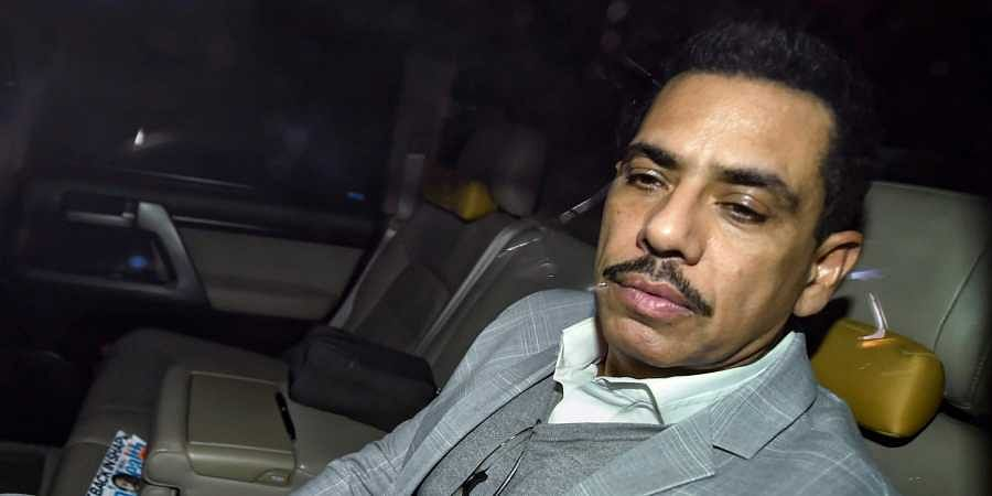Congress president Rahul Gandhi's brother-in-law Robert Vadra