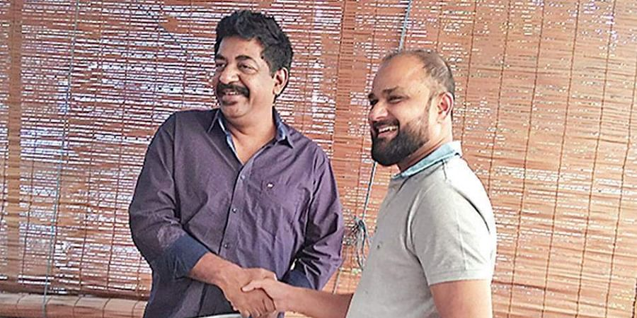 Filmmakers Yogaraj Bhat and Shashank
