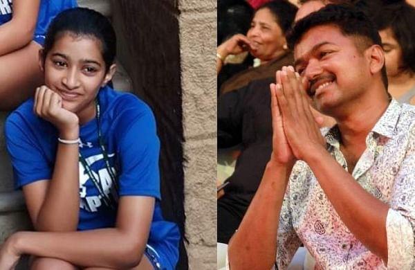 Vijay's daughter Sasha amazes with badminton skills- The ...