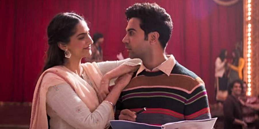 Sonam Kapoor and Rajkumar Rao in a still from 'Ek Ladki Ko Dekha Toh Aisa Laga'
