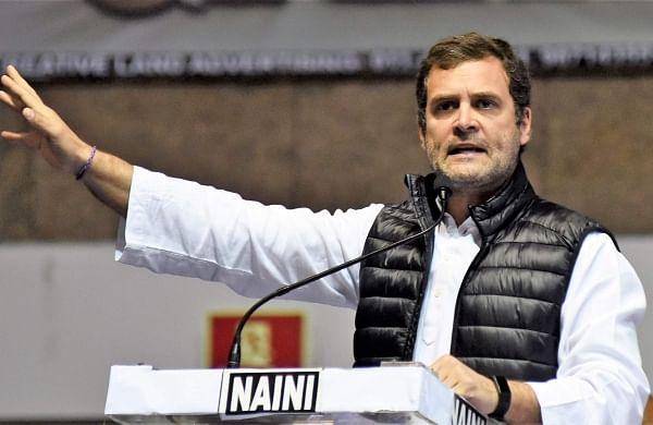 Congress chief Rahul Gandhi (File | EPS)