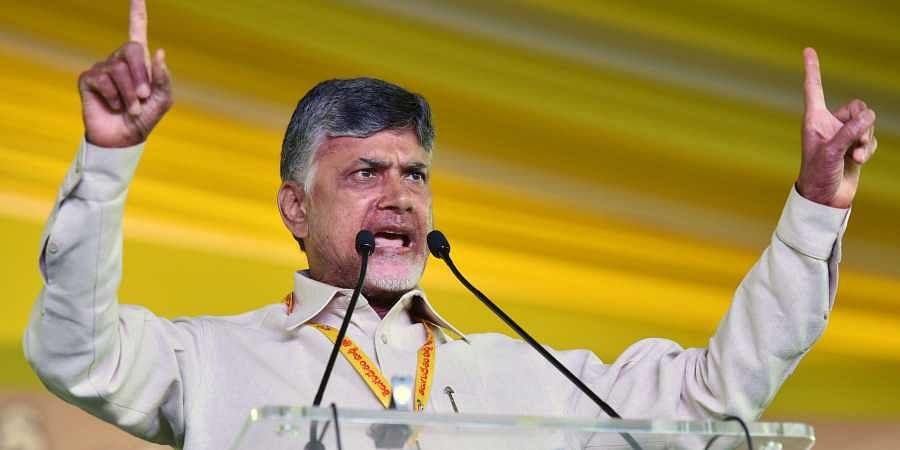 Andhra Pradesh CM Chandrababu Naidu.