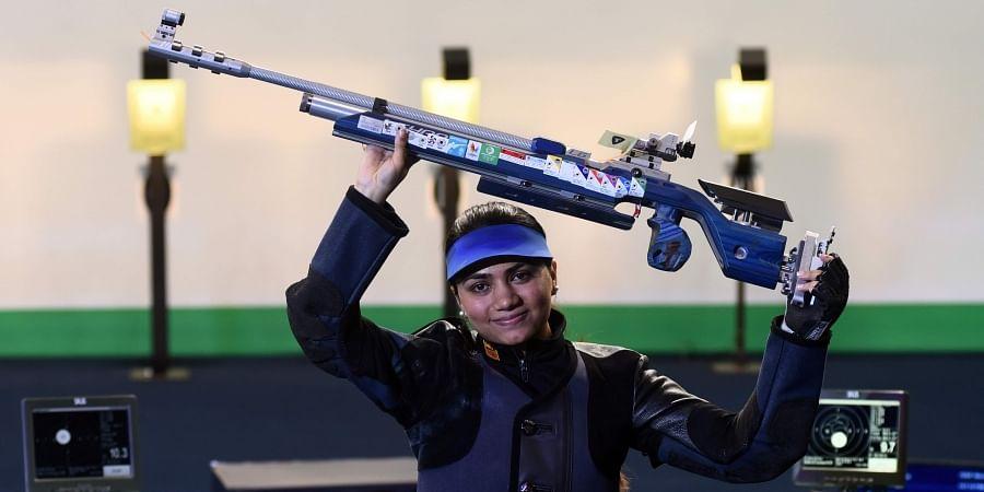Apurvi Chandela breaks world record in 10m Air Rifle, bags gold