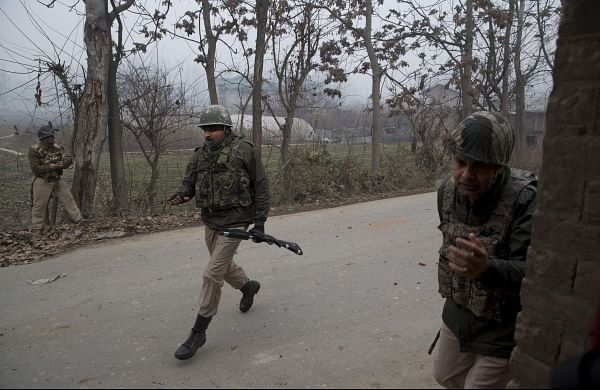 Indian paramilitary soldiers (Photo | AP File)