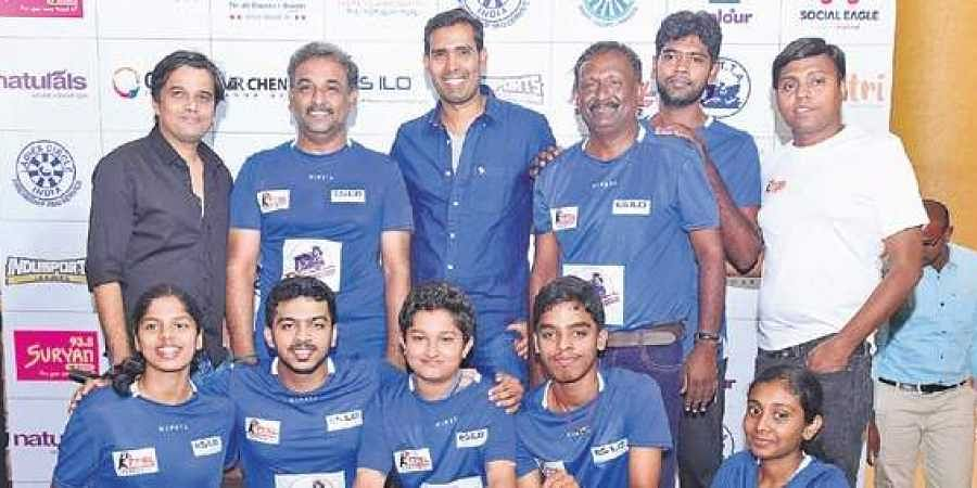 Ball in mall for table tennis aspirants of Tamil Nadu- The
