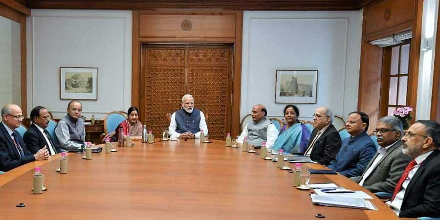 Cabinet Committee on Security Meeting held at PM Narendra Modi's residence.