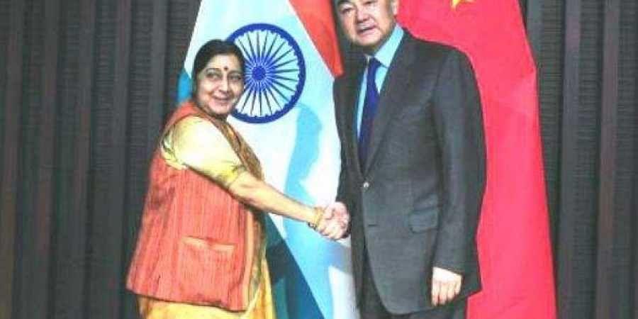 Chinese Foreign Minister Wang Yi (Photo | Twitter @MEAIndia)