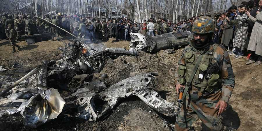 IAF jet crashes in Budgam district of Jammu and Kashmir