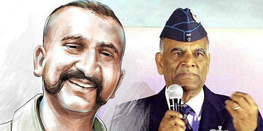 Wing Commander Abhinandan and Air Marshal Simhakutty Varthaman
