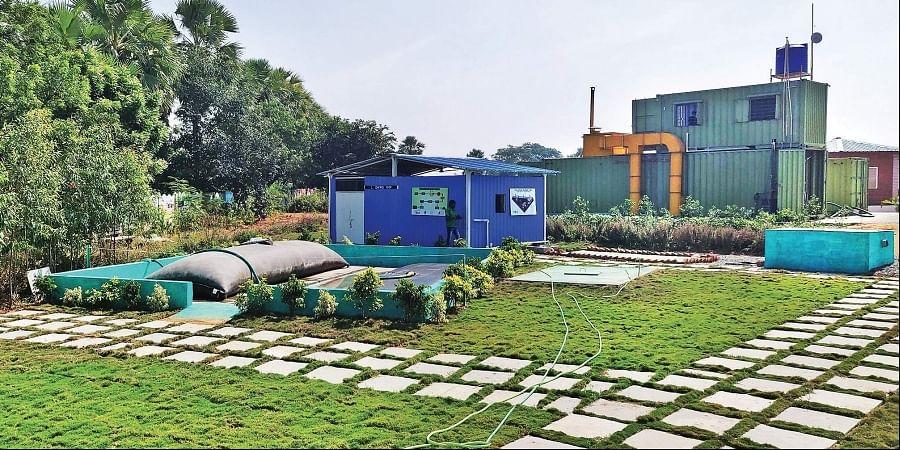 Sanitation Resource Park, garden