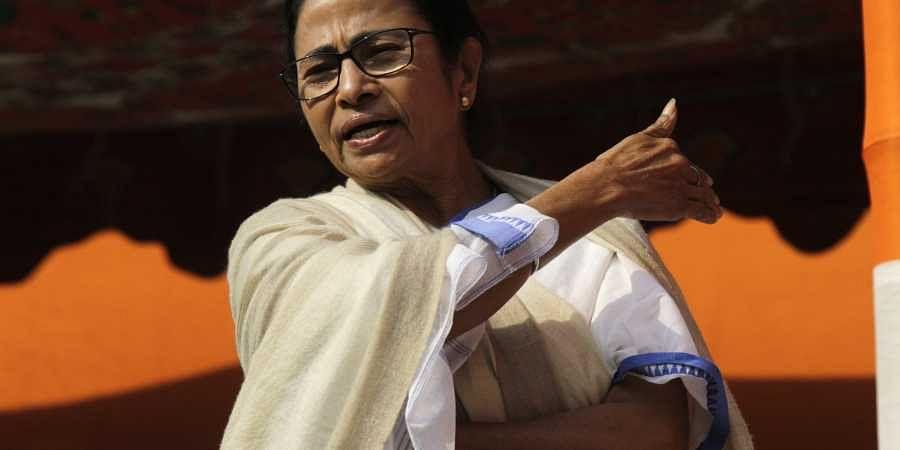Mamata Banerjee, Mamata Banerjee dharna