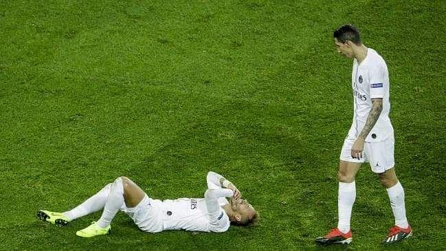 Di Maria and Neymar of PSG (Photo | AFP)