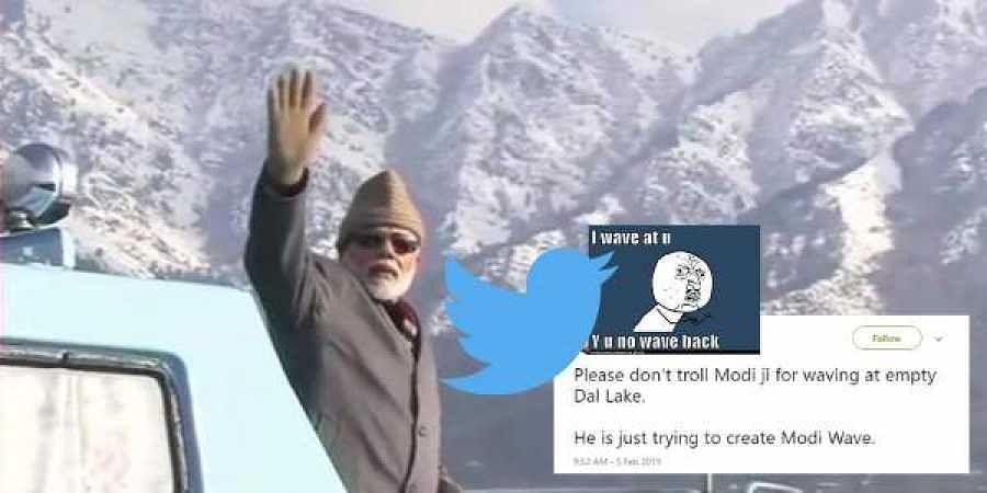 PM Modi. Dal lake visit
