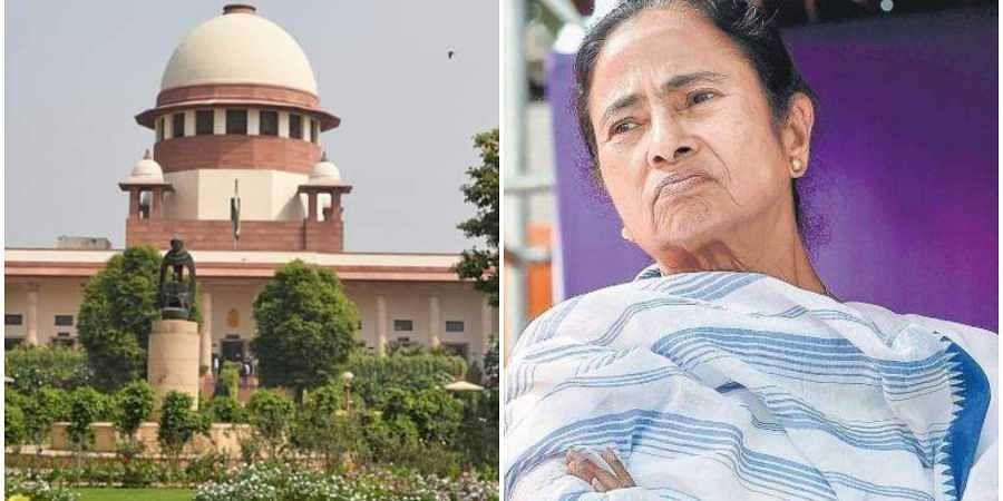 Mamata, Supreme Court, Sardha. west bengal, dharna