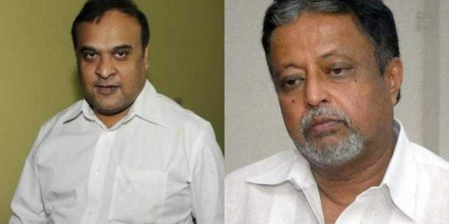 Two BJP leaders whose names figure in the Saradha chit fund