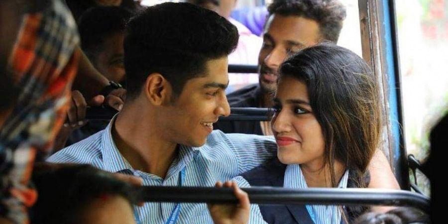 A still from the movie'Oru Adaar Love
