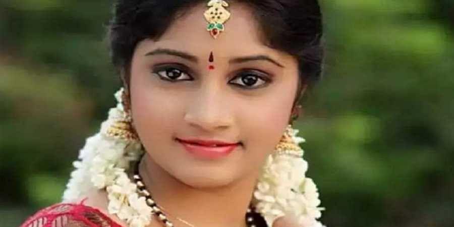 Telugu television actress Naga Jhansi