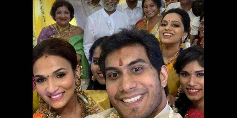 Thalaivar Family All Cheers First Pictures Of Soundarya
