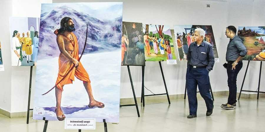 Alluri Sitarama Raju life revisited at exhibition in