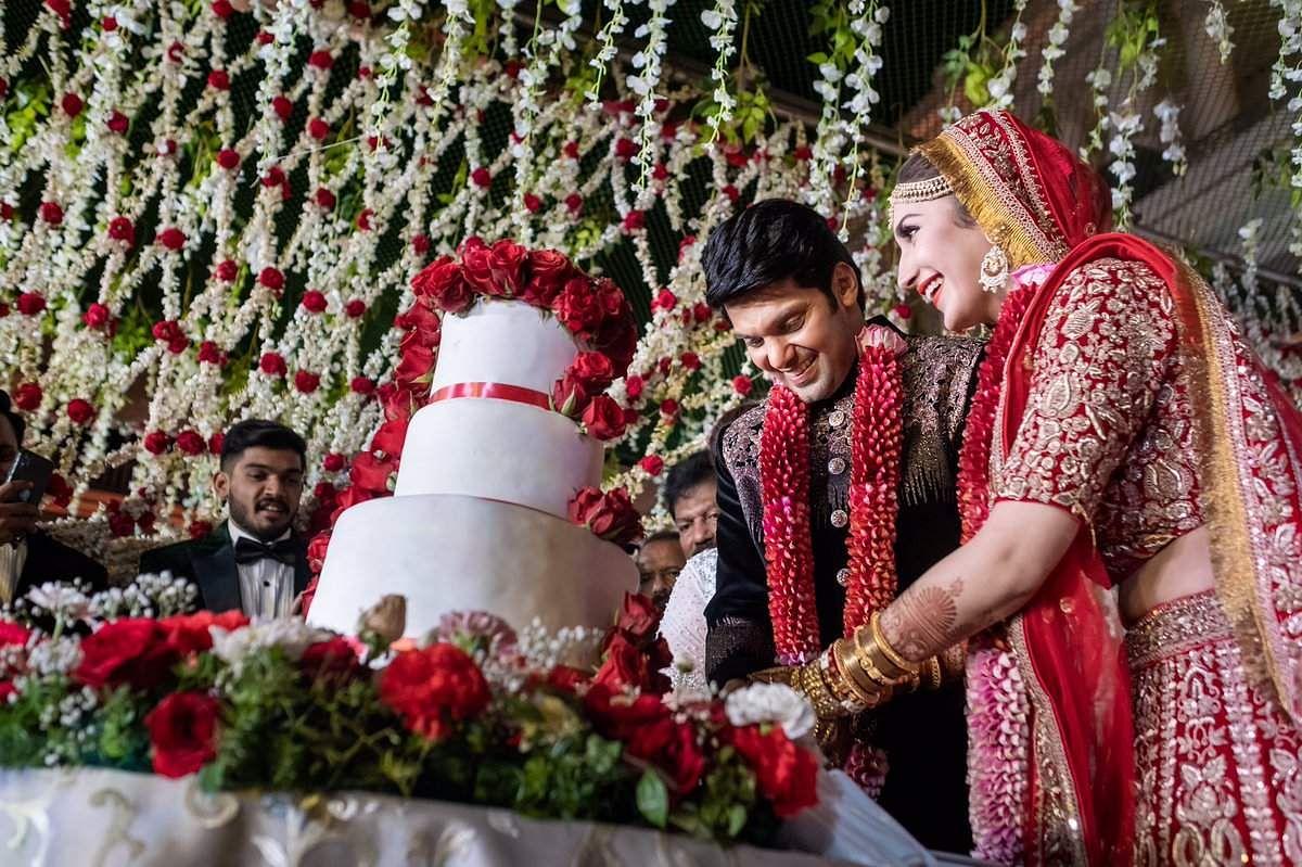 Actors Arya and Sayyeshaa Saigal got married on March 10 in an intimate Muslim wedding held at Taj Falaknuma Palace, Hyderabad.
