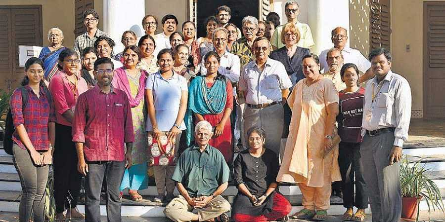 The two-day conclave was held at the Blavatsky Bungalow in The Theosophical Society.
