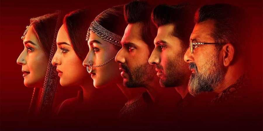 The multi-starrer cast of 'Kalank'. (Photo | Karan Johar Twitter)