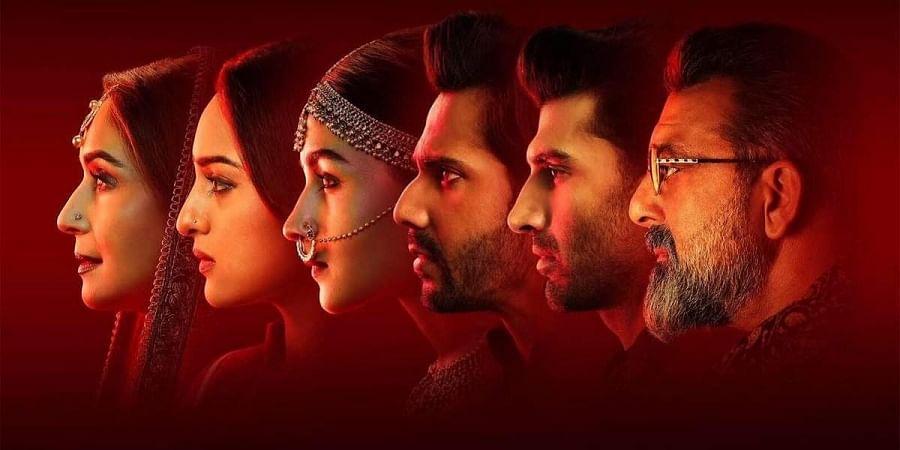 The multi-starrer cast of 'Kalank'. (Photo   Karan Johar Twitter)