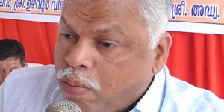 Kerala CPI(M) leader M V Jayarajan
