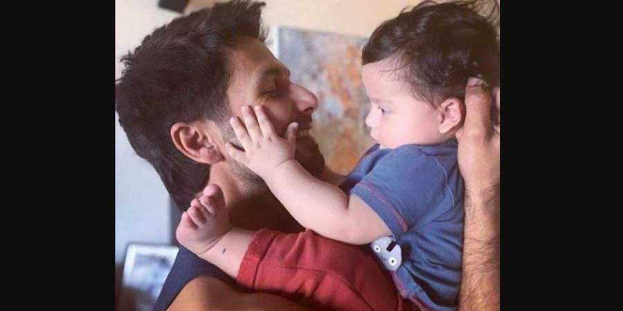Shahid Kapoor with his son Zain. (Photo   Shahid Kapoor Instagram)