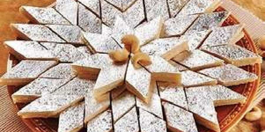 Sweet, Kaju Katli, Food