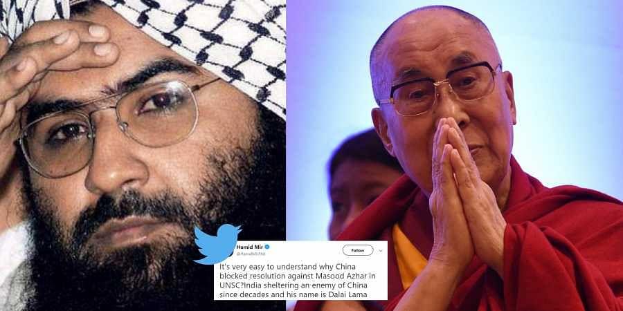 dalai lama, masood azhar