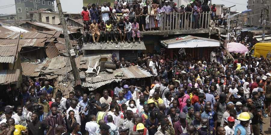 Collapse Of Nigerian School Building Leaves At Least 10 Dead