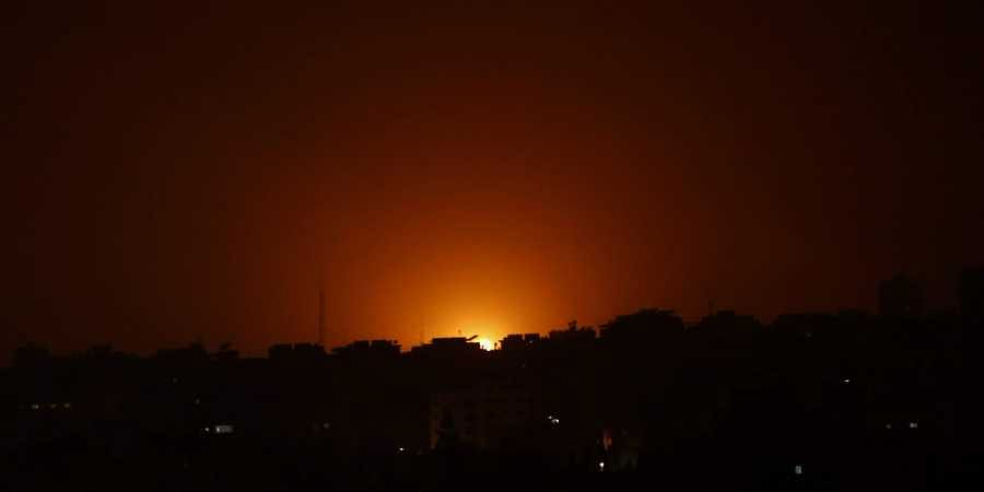 Israel fires on Hamas targets after rocket attacks