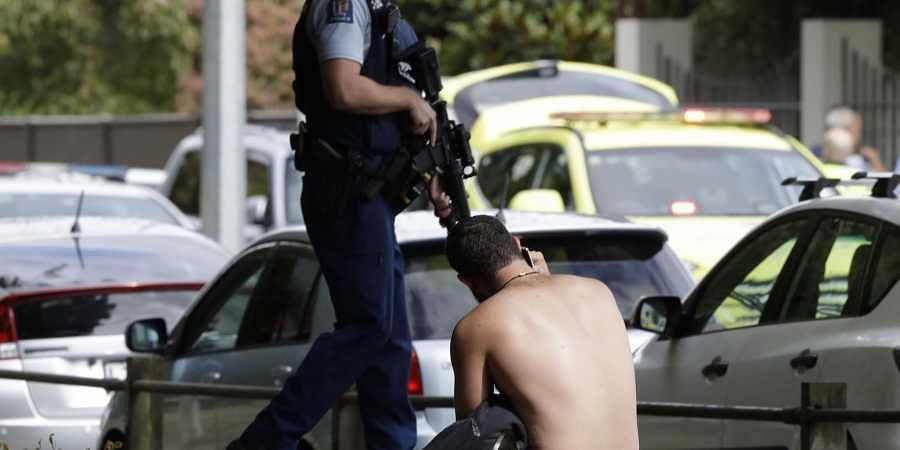 Many dead in New Zealand mosque shooting; one person in custody