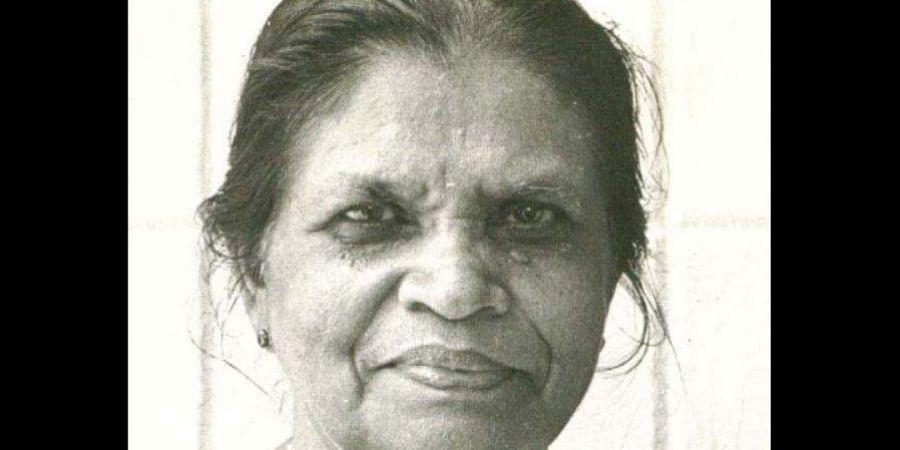 Former Congress MLA Rosamma Chacko