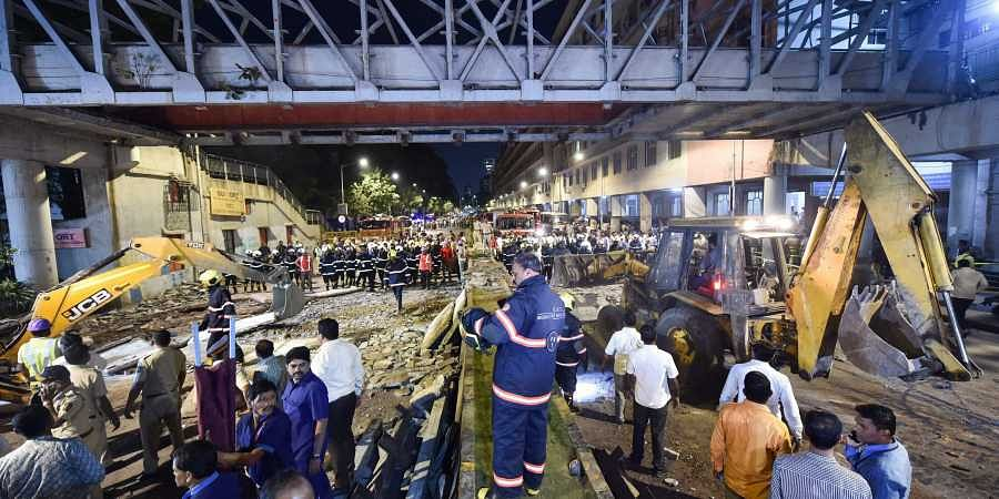Mumbai bridge collapse: BMC orders suspension of two engineers