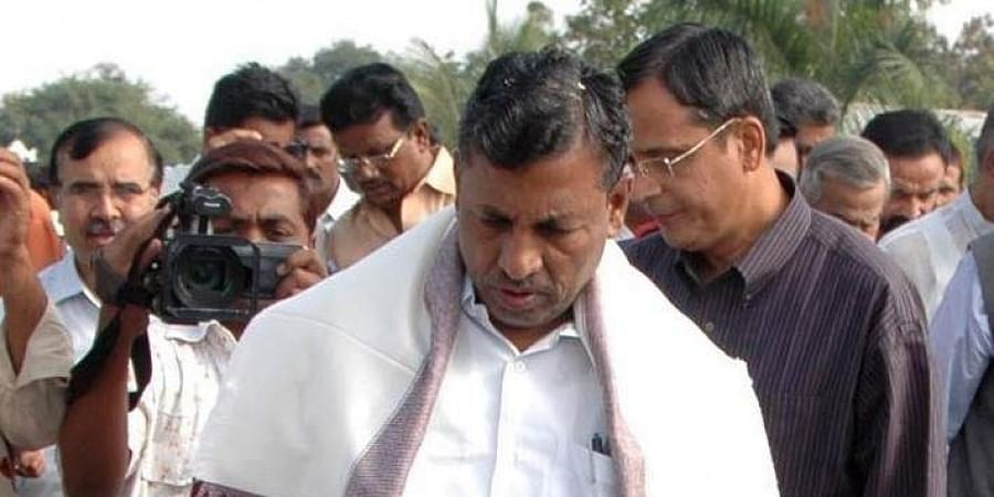 Senior Congress leader and former Union minister KH Muniyappa